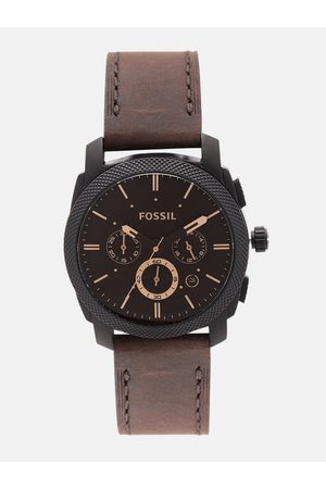 Fossil Men Coffee Brown Analogue Watch FS4656