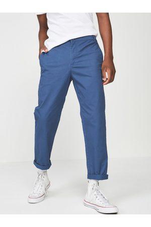 Cotton On Men Blue Slim Fit Solid Regular Trousers