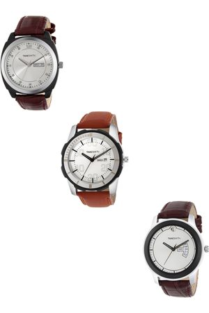 TIMESMITH Men Set of 3 Analogue Watches TSC-002-003-017