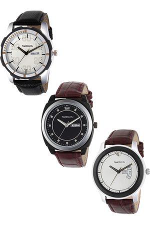 TIMESMITH Men Set of 3 Analogue Watches TSC-001-002-006