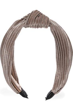 Accessorize Taupe Self Design Hairband