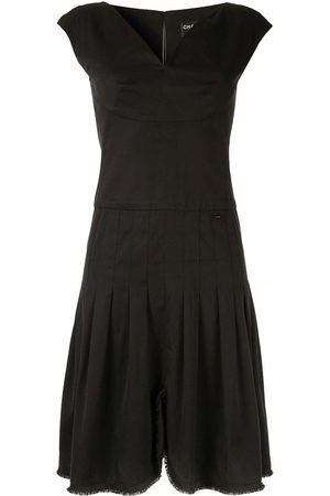 CHANEL Sleeveless one piece dress