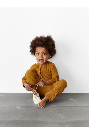 Zara Kids Jumpsuits - Textured contrast jumpsuit