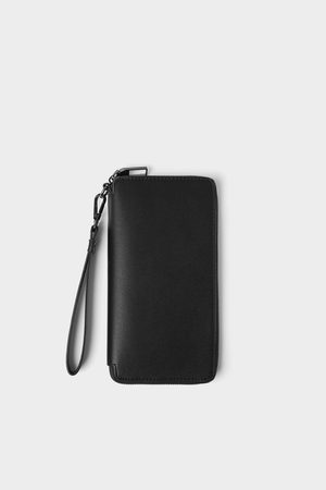 Zara Smart embossed xl wallet