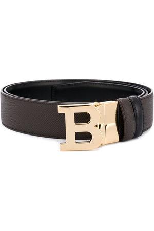 Bally Men Belts - B logo buckle belt