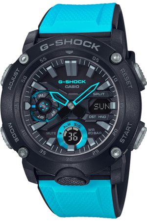 Casio G-Shock Men Black Dial Extra Large-Combination Watch GA-2000-1A2DR - G942