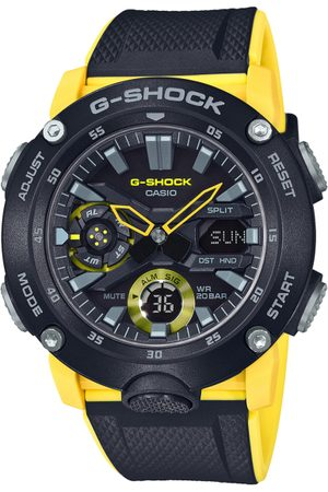 Casio G-Shock Men Black Dial Extra Large-Combination Watch GA-2000-1A9DR - G943