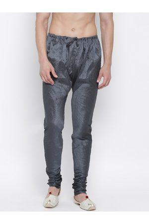 Vastramay Men Grey Solid Pyjamas