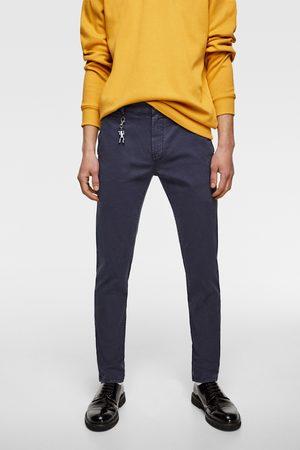 Zara Men Chinos - Faded chino trousers
