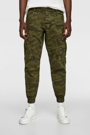 Zara Camouflage cargo trousers