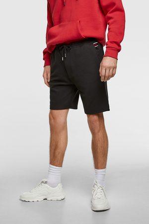 Zara Men Bermudas - Piqué bermuda shorts
