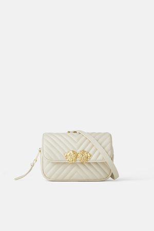 Zara Crossbody belt bag with lion details