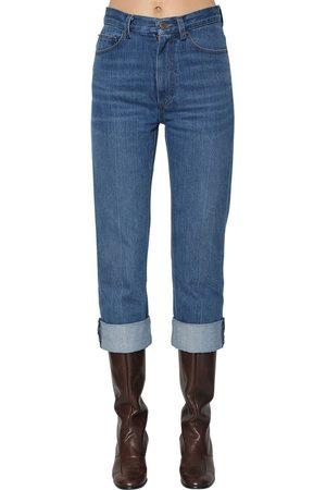 Marc Jacobs Straight Leg Cotton Jeans
