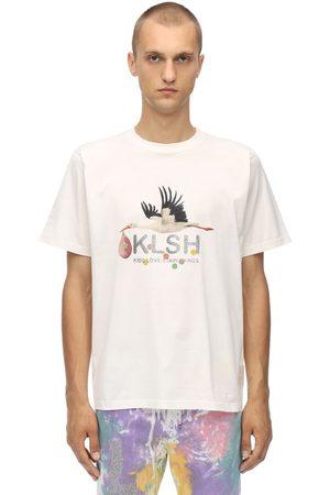 KLSH - KIDS LOVE STAIN HANDS Printed Cotton Jersey T-shirt