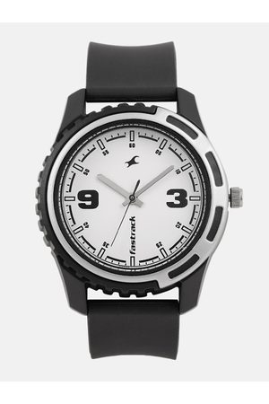 Fastrack Men Watches - Men White Analogue Watch NJ3114PP01C