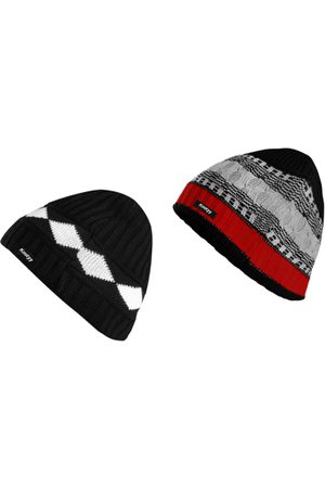 Knotyy Men Pack of 2 Beanies