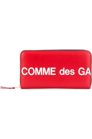 Comme des Garçons Wallets - Rectangular logo print wallet