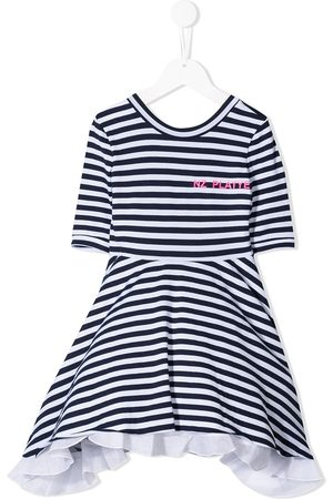 Natasha Zinko Striped flared dress