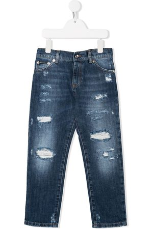 Dolce & Gabbana Ripped detail jeans