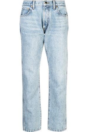 Khaite Women Boyfriend - Cropped boyfriend jeans