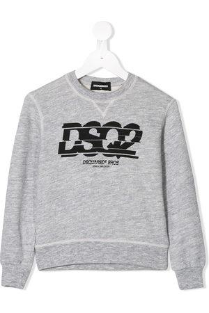 Dsquared2 Sweatshirts - Logo print sweatshirt