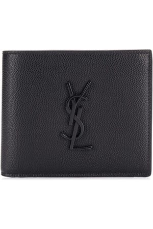 Saint Laurent Monogram grained leather wallet