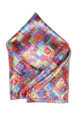 Blacksmith Men Handkerchiefs - Men Multicoloured Printed Pocket Square