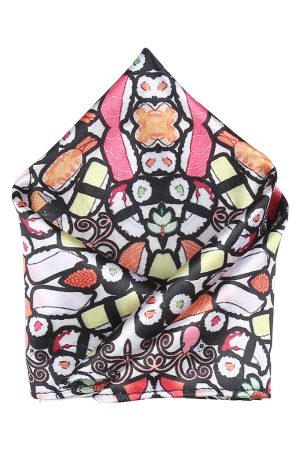Blacksmith Men Multicoloured Printed Woven Pocket Square