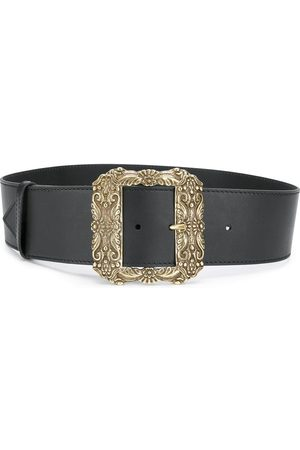 Etro Oversized square buckle belt