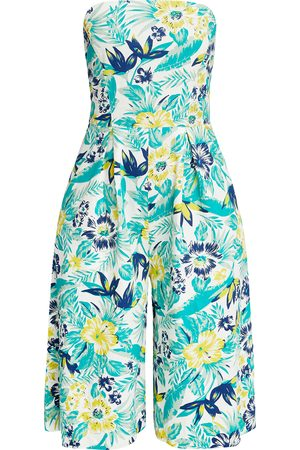 People Tree Tanya Tropical Jumpsuit 8