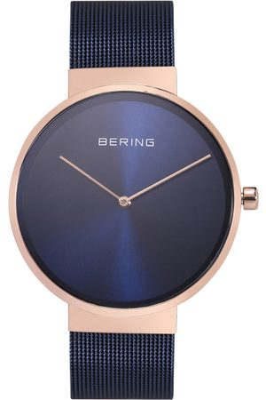 Bering Men Classic Blue Sapphire Crystal Analogue Watch 14539-367