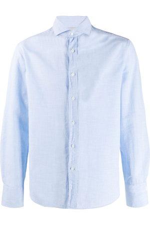 Brunello Cucinelli Men Long Sleeve - Chambray shirt