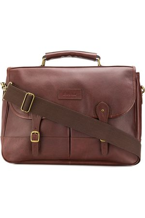 Barbour Laptop Bags - Foldover buckled strap briefcase