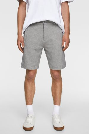 Zara Men Bermudas - Bermuda shorts in check texture