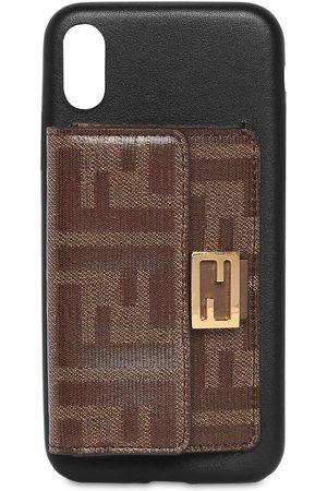 Fendi Leather I Phone X Cover