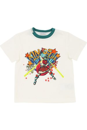 Dolce & Gabbana Hero Printed Cotton Jersey T-shirt