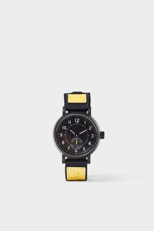 Zara Men Watches - Contrast strap sports watch