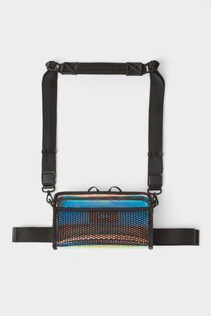 Zara Men Belts - Vinyl crossbody belt bag