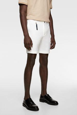 Zara Men Bermudas - Comfort knit 4-way bermuda shorts