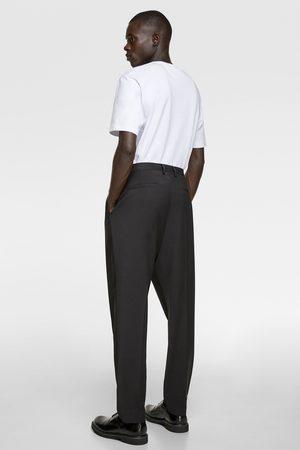 Zara Wide-leg tuxedo trousers