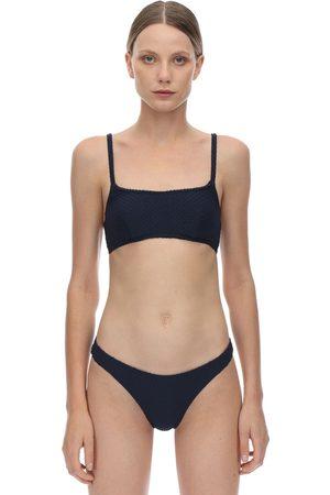 Peony Blackberry Bikini Top