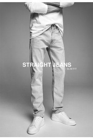Zara Men Slim - Basic straight slim fit jeans