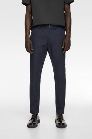 Zara Men Chinos - 4-way traveller chino trousers