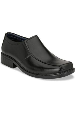 Azzaro Men Black Slip-On Formal Shoes