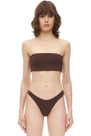AEXAE Bandeau Lycra & Nylon Bikini Top