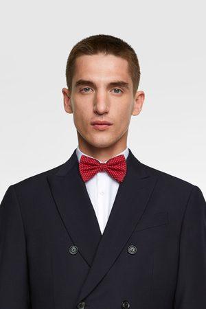 Zara Men Bow Ties - Floral jacquard bow tie