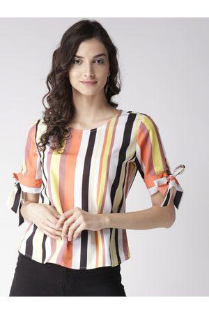 Style Quotient Women Multicoloured Striped Top