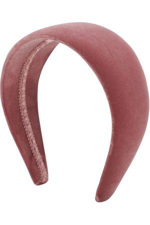 CA&LOU Women Headbands - Anastasia Cotton Velvet Headband