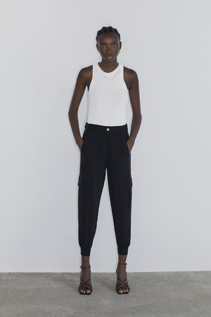 Zara Loose fit cargo trousers