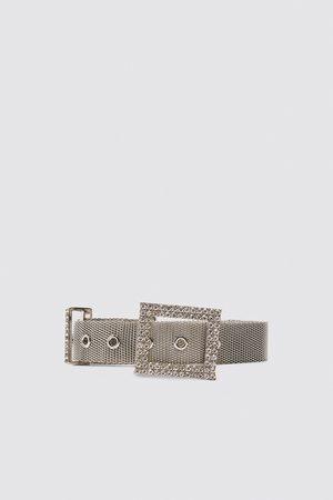 Zara Belt with bejewelled buckle